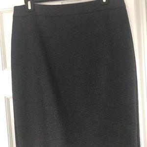 JCrew wool pencil no 2 skirt